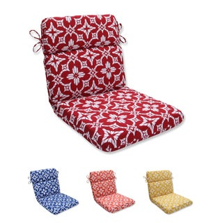 Pillow Perfect Outdoor/ Indoor Aspidoras Rounded Corners Chair Cushion
