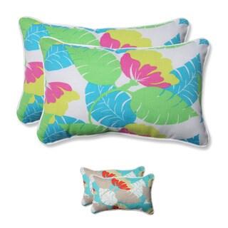Pillow Perfect Outdoor/ Indoor Avia Rectangular Throw Pillow (Set of 2)