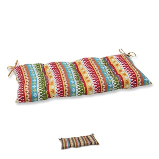 Pillow Perfect Outdoor/ Indoor Cotrell Wrought Iron Loveseat Cushion