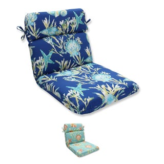 Pillow Perfect Outdoor/ Indoor Daytrip Rounded Corners Chair Cushion