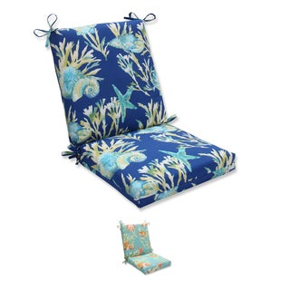 Pillow Perfect Outdoor/ Indoor Daytrip Squared Corners Chair Cushion