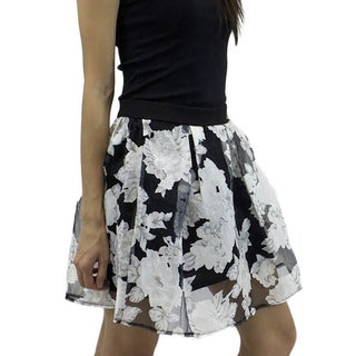 Relished Women's Perennially Pretty Sheer Skirt