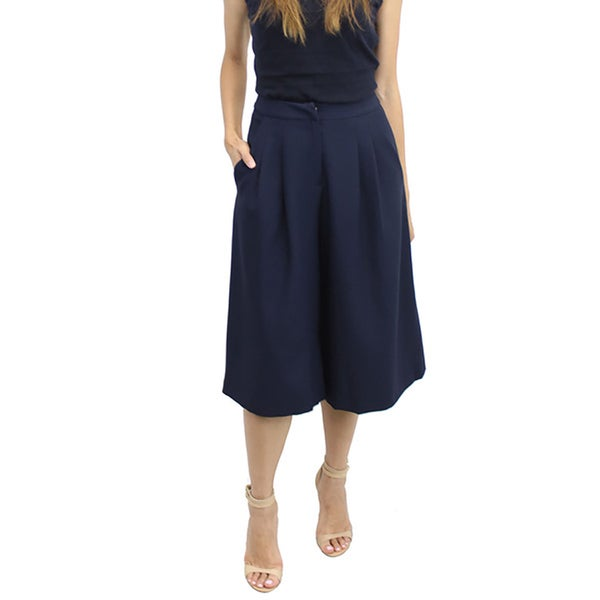 Relished Women's Lush Navy Paris-Bound Culotte