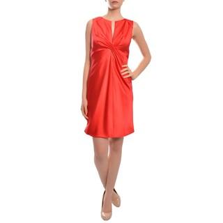 Callula Lillibelle Women's Contemporary Silk Fitted Evening Dress