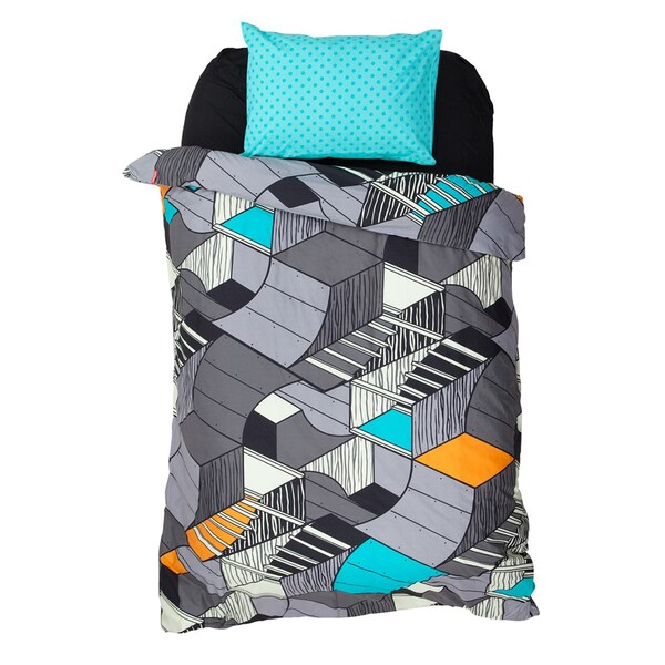 Ramp Jam Duvet Cover