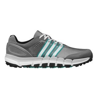 Adidas Men's Pure 360 Gripmore Sport Granite/ White/ Power Green Golf Shoes