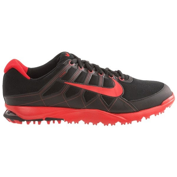 Nike Men's Air Range WP II Black/ Red Golf Shoes