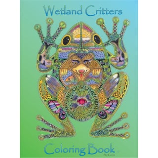 EarthArt Coloring Book Wetland Critters