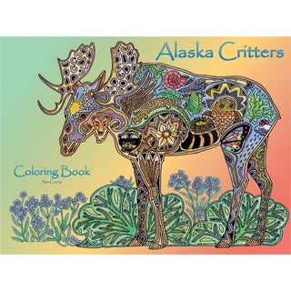 EarthArt Coloring Book Alaska Critters