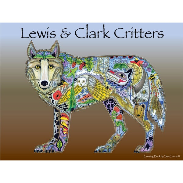 EarthArt Coloring Book Lewis & Clark