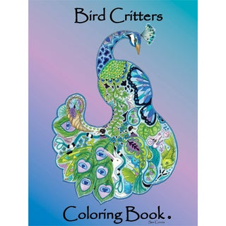 EarthArt Coloring Book Bird Critters