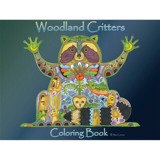EarthArt Coloring Book Woodland Critters