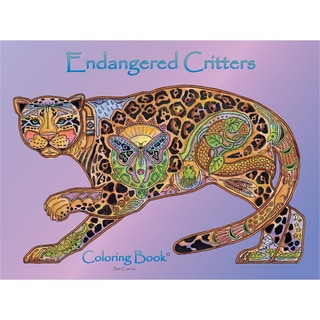 EarthArt Coloring Book Endangered Critters