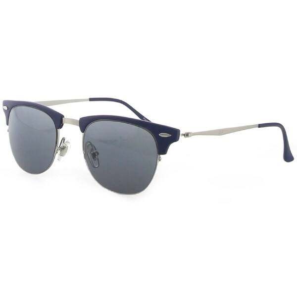 Versace 19V69 LLV2001T C3 Dark Navy/ Silver Sunglasses