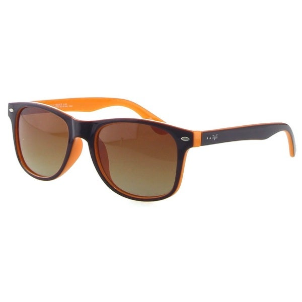 Versace 19V69 LLV1073T C3 Brown/ Orange Square Sunglasses
