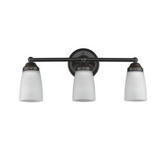 Chloe Transitional 3-light Bronze Bath/Vanity Light