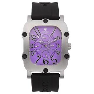 Croton Men's CN307529BSPP Stainless Steel Silvertone Multifunction Watch