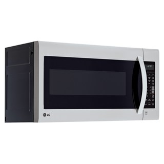LG 2-cubic Foot Over-the-range Microwave Oven - Stainless Steel