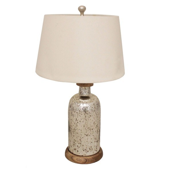 Olivia Mercury Glass Tablle Lamp