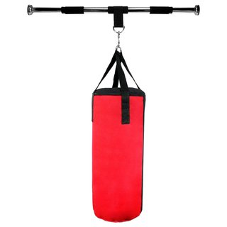 Velocity Boxing MMA Sport Pro Doorway Frame Punching Bag with Tough Air/Water Filled Bag, Adjustable Horizontal Bar