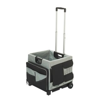 MemoryStor Universal Cart and Bag Black and Grey