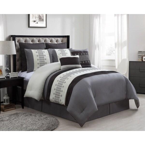 Geneva 8-piece Queen Size Comforter Set 17262435