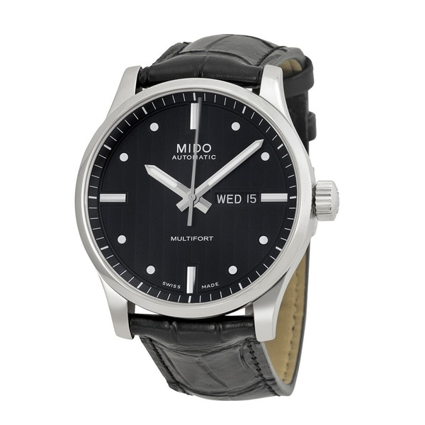 MIDO Men's M0054301603101 Multifort Black Watch