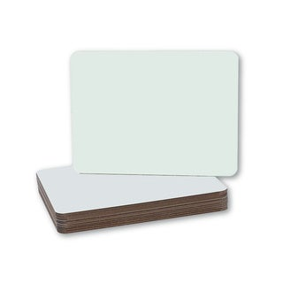 Dry Erase Board Class Pack, 9-0.5 inch x 12-inch, 12/pkg