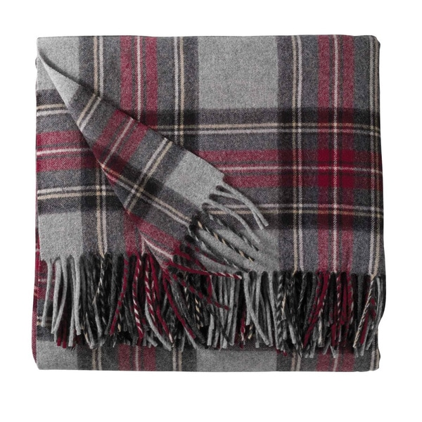 Pendleton 5th Avenue Grey Stewart Blanket 17262577