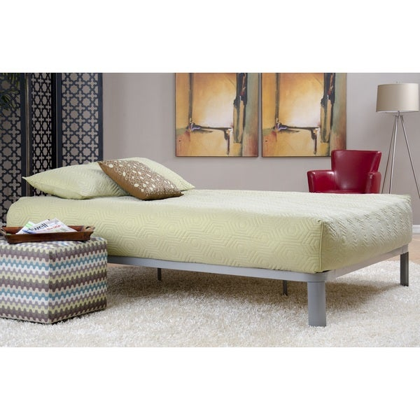 Motif Design Lunar Deluxe Grey Platform Bed