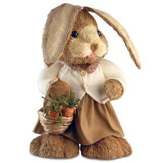 36-inch Brown Standing Rabbit