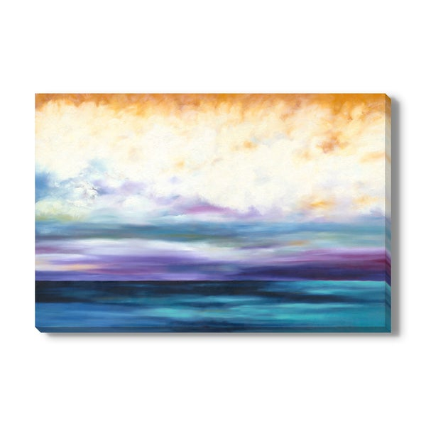 Lifting Storm Print by Marie Meyer on Canvas Gallery Wrap