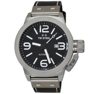 TW Steel Men's CS6 Canteen Black Watch