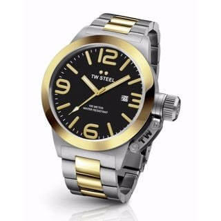 TW Steel Men's CB41 Canteen Black Watch
