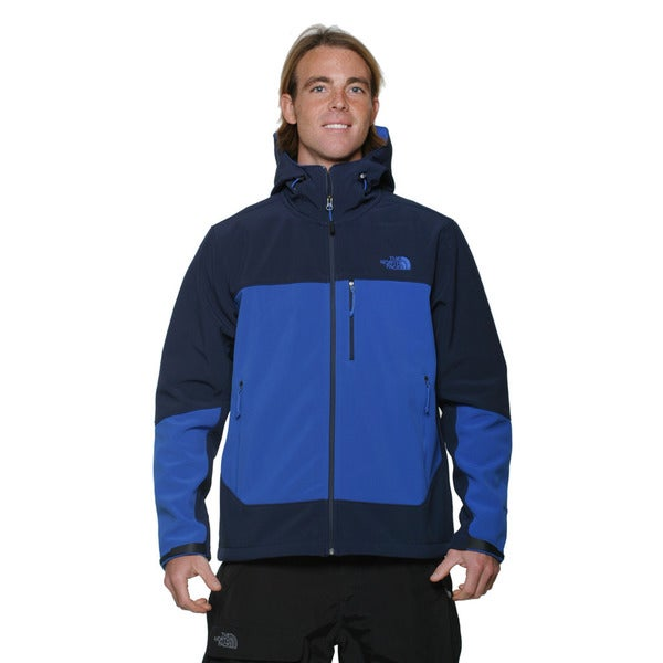 The North Face Men's Cosmic Blue and Monster Blue Apex Bionic Hoodie
