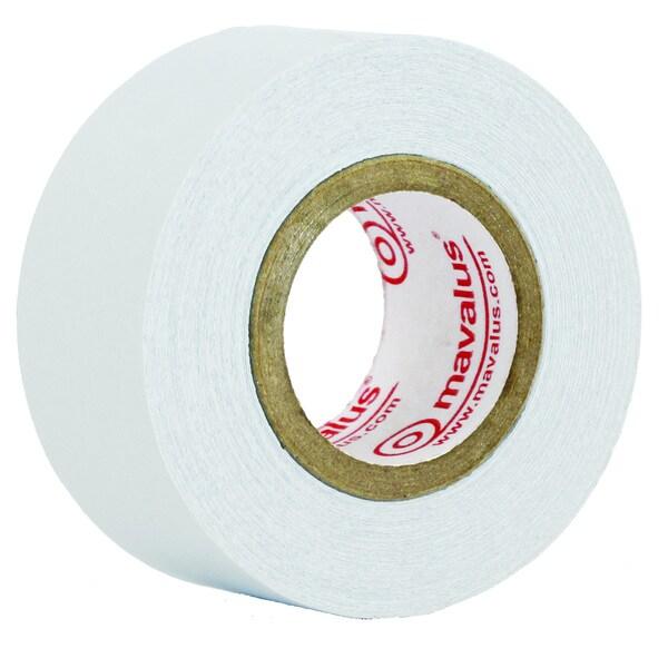 (6 RL) Mavalus Tape, 1-inch x 360', White