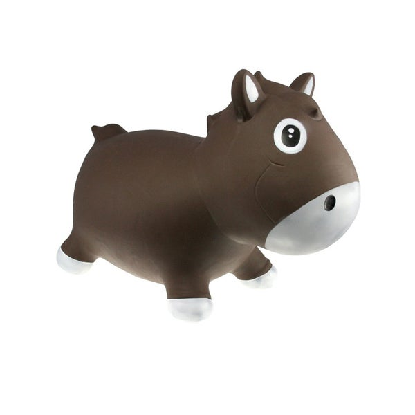 Kidzz Farm Jumping Chocolate Harry Horse Hopper