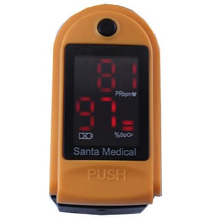 Santamedical SM-150 Generation 2 Fingertip Pulse Oximeter Oximetry Oxygen Saturation Monitor