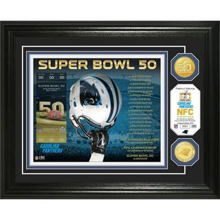 Super Bowl 50 Silver Coin Photo Mint