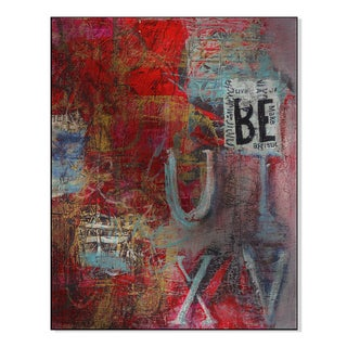 Gallery Direct Babel On I Print by Shirley Williams on Mounted Metal Wall Art