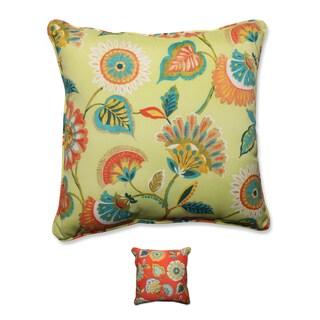 Pillow Perfect Outdoor/ Indoor Woodcourt 25-inch Floor Pillow