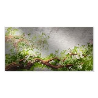 Gallery Direct Magic Tree Branch Print on Mounted Metal Wall Art