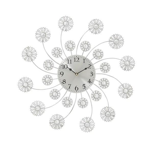 Metal Acrylic 19-inch Wall Clock