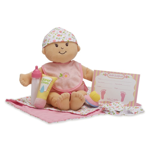 Manhattan Toy Baby Stella Doll Bringing Home Baby Set