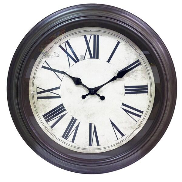 Classic Railroad Clock in 16 inch