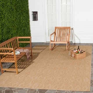 Safavieh Indoor/ Outdoor Courtyard Natural/ Natural Rug (9' x 12')