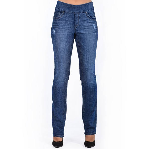 Women's Blue Slim Fit Denim