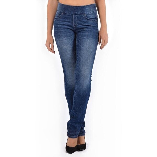 Bluberry Women's Slim Leg Denim