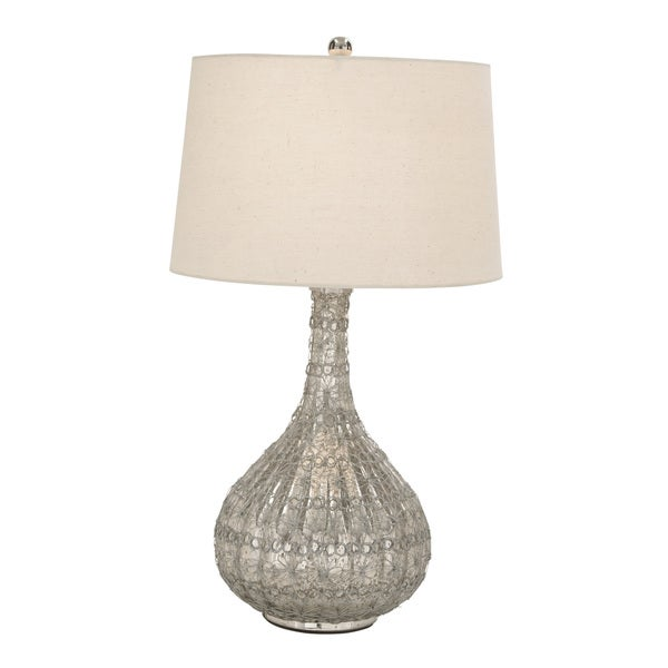 Glass Wire Weaved Table Lamp