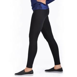 Women's Bluberry Basic Black Legging